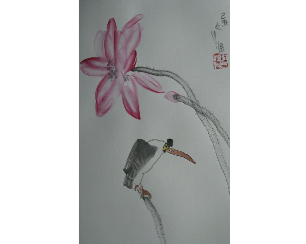 徐州走出来的国画大家江文湛先生作品欣赏 - 求是斋 - 求是斋书画